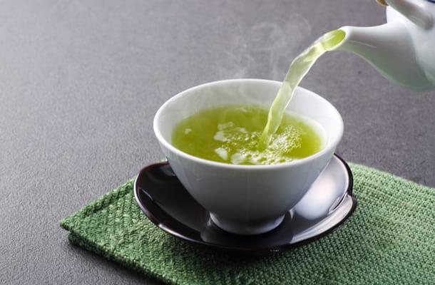 茶畑と緑茶。